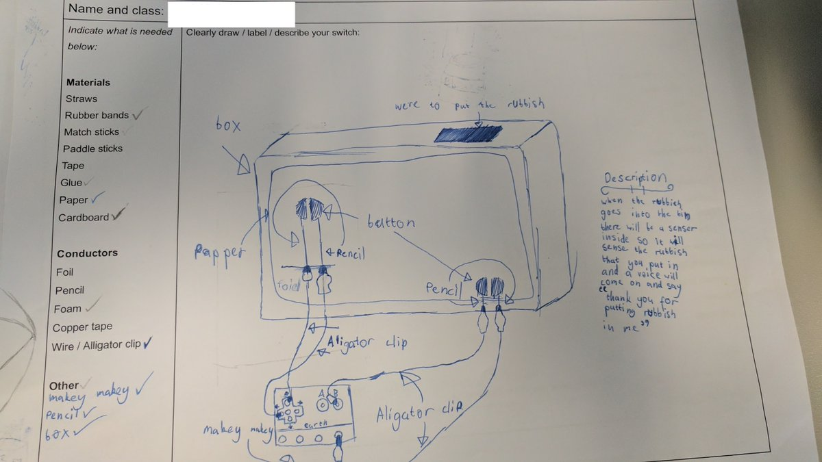 Makey Projects For Year 3 To 6 Students Reconfigured How Can You Make A Circuit Design Of Any Idea Have From Scratch